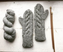 Melrose Mittens Knitting Pattern