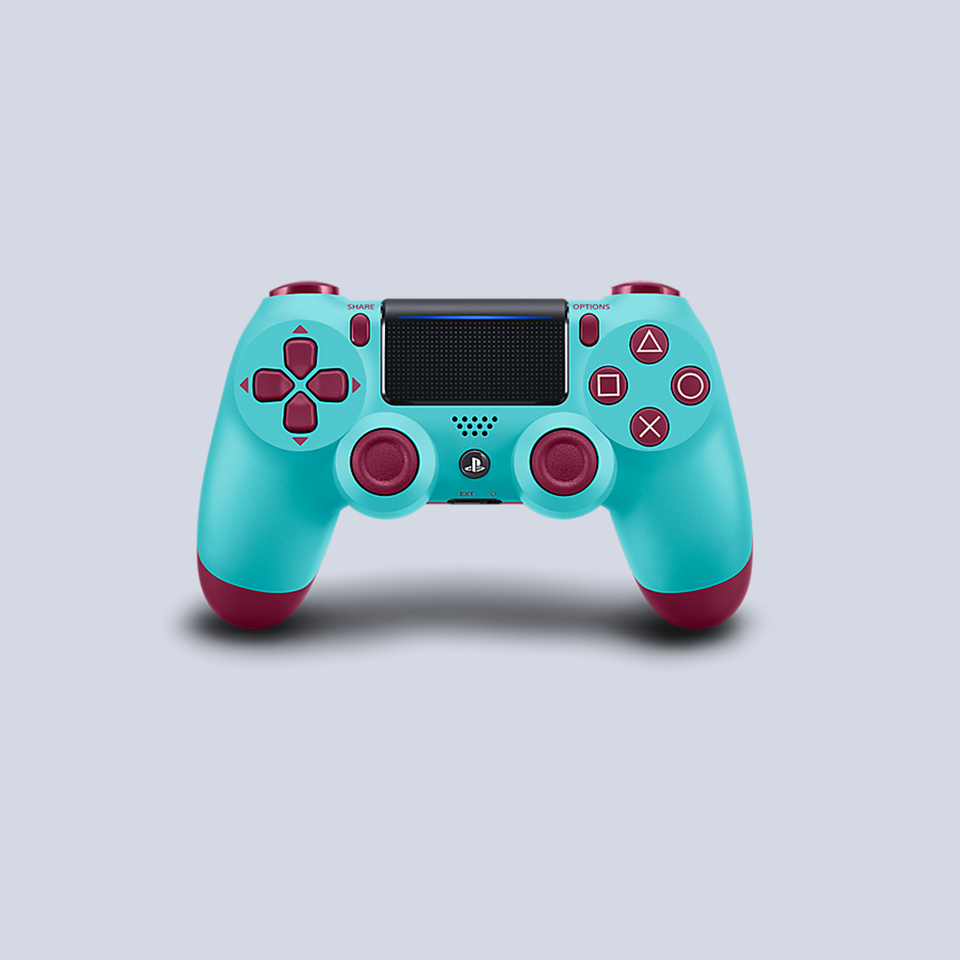 Sony PlayStation 4 Wireless DUALSHOCK Controller - Berry Blue