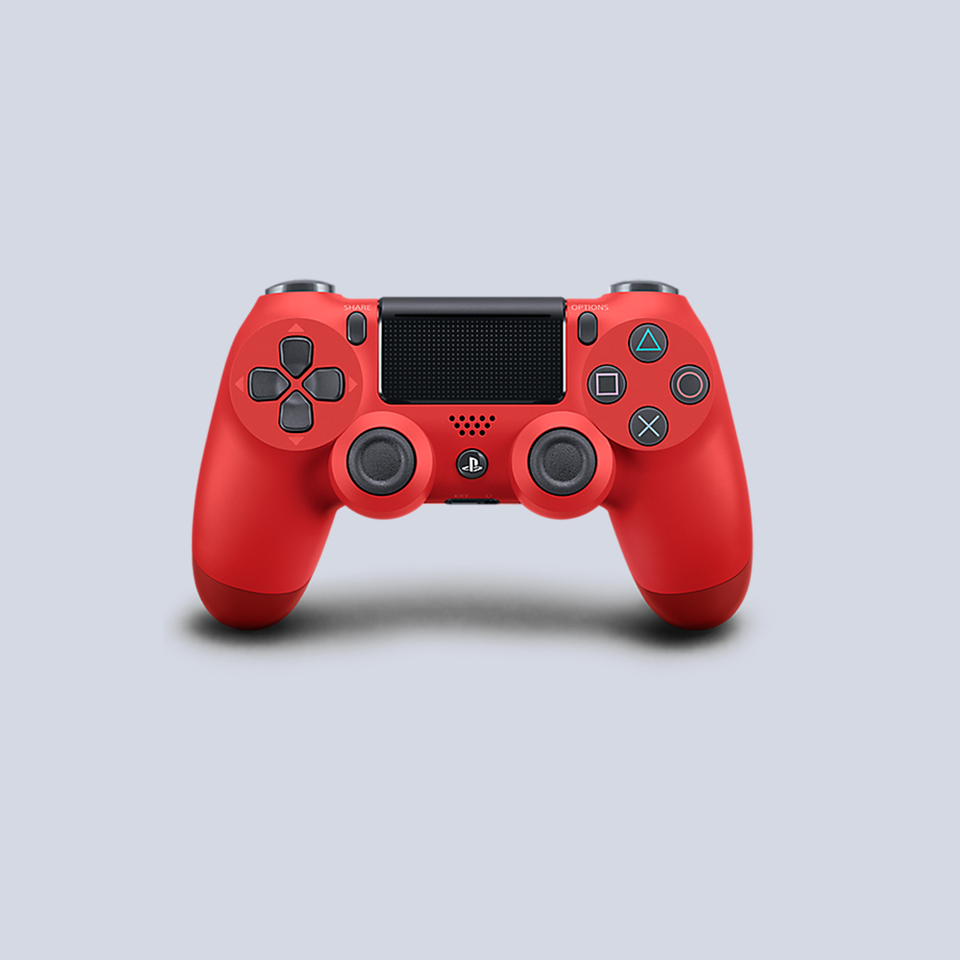 Sony PlayStation 4 Wireless DUALSHOCK Controller - Magma Red
