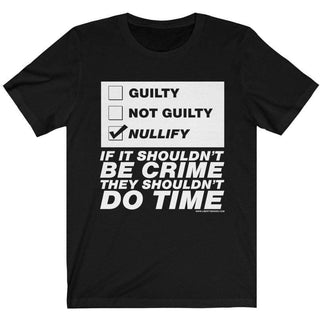 Jury Nullification Ladies T-Shirt