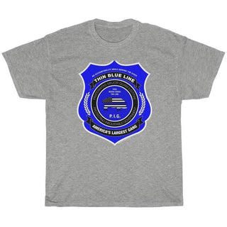 Thin Blue Line Gang Men's T-Shirt