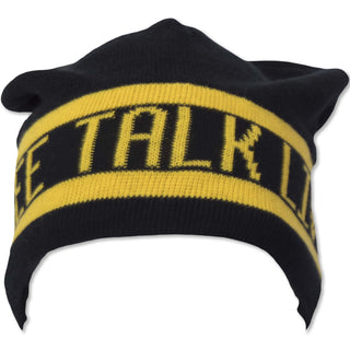 Free Talk Live Felt Lined Woven Beanie