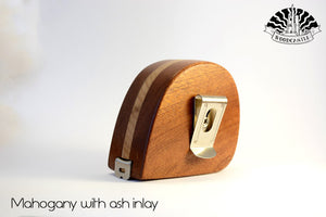 3m/9'' Inlayed wooden tape measure (Personalisation available) MADE TO ORDER