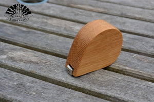 2m - Wooden cased tape measure (Personalisation available) MADE TO ORDER