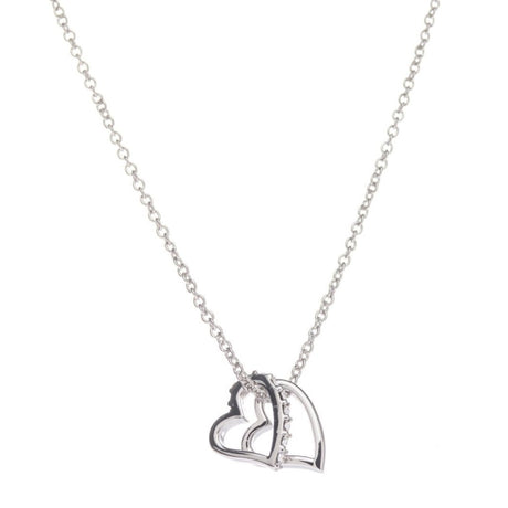 Crystal Heart Pendant - Viamar Jewelry