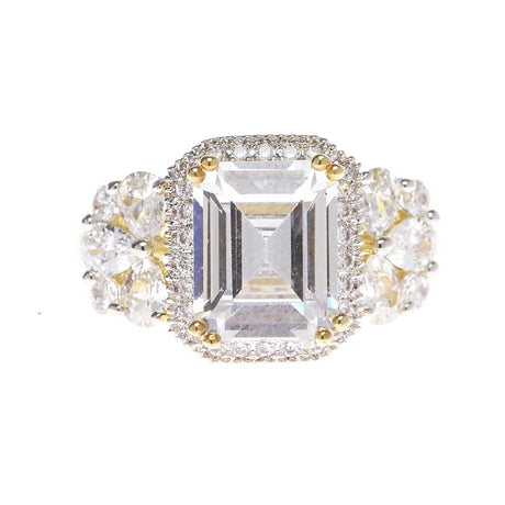 Princess Cut Multi Stone Ring