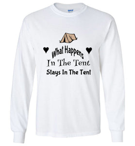 What Happens In The Tent Stays In The Tent