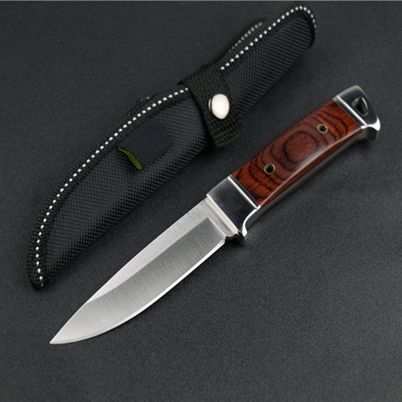 Fixed Blade Knife Hunting a Knives Camping Survie Couteau Pliant CS Knifes Zakmes Browning Cuchillo Facas Taticas Militar Pocket