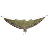 OneTigris Camping Survivor Hammock with Mosquito Net (Carabiners &Ropes Included) Portable Lightweight