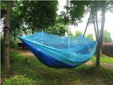 Ultralight Outdoor Camping Hunting Mosquito Net Parachute Hammock 2 Person Flyknit Hamaca Garden Hamak Hanging Bed Leisure Hamac-Camping Gear Plus