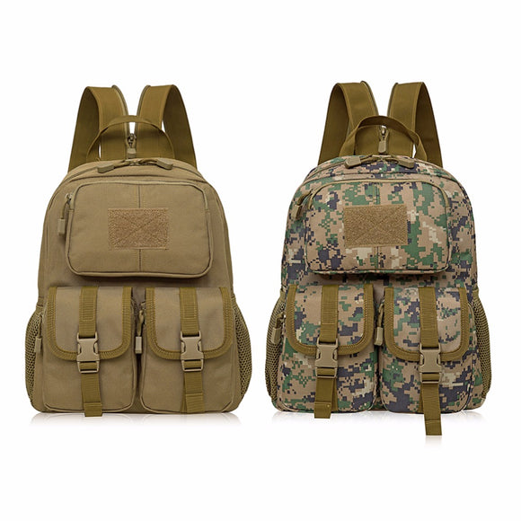 Camouflage Travel Backpack 12L Hiking Bag Survival Outdoor Backpack Outdoor Climbing Bag Camping Backpack Sport Bag Free Shippin-Back Packs-Camping Gear Plus