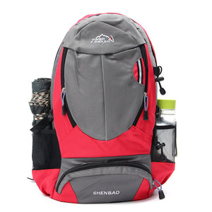 35L Sports Travel Backpack Camping Hiking Unisex Rucksack Shoulder Laptop Bag Pack Climbing Accessories Outdoor Bag-Back Packs-Camping Gear Plus