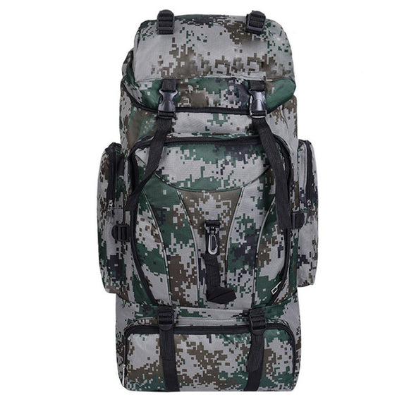 Camouflage Backpack Waterproof Travelling Camping Climbing Bag Casual Outdoor Sports Backpack Tactical Rucksack New Style-Back Packs-Camping Gear Plus
