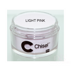 CHISEL ACRYLIC & DIPPING 2 OZ - PINK & WHITE - LIGHT PINK