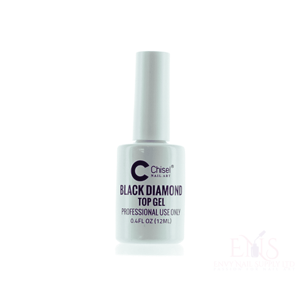 Dip Nails Dip Powder Nails CHISEL LIQUID .4 OZ - BLACK DIAMOND TOP GEL