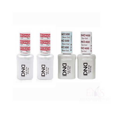DND Gel Base & Topcoat Base coat DND Top coat Base coat no wipe top coat