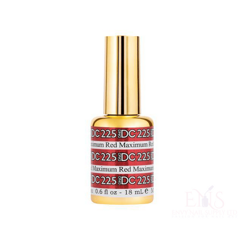 DND Gel Polish DND DC MERMAID GEL - 225 MAXIMUM RED