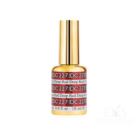 DND Gel Polish DND DC MERMAID GEL - 227 DEEP RED