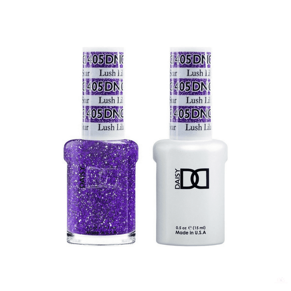 DND Duo Gel - 405 Lush Lilac Star