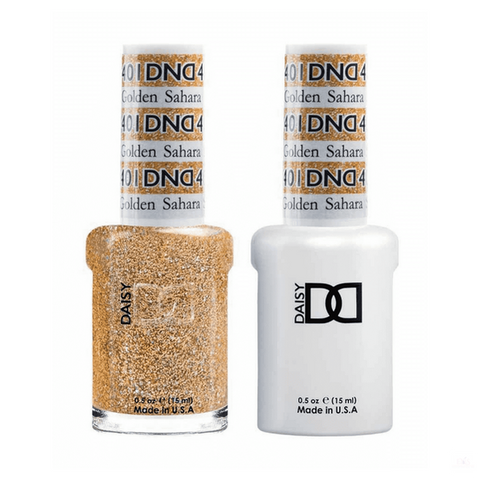 DND Gel Polish DND *Duo Gel* Gel & Matching Polish - 401 Golden Sahara Star