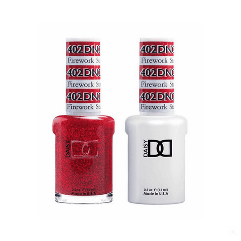 DND Gel Polish DND *Duo Gel* Gel & Matching Polish - 402 Firework Star