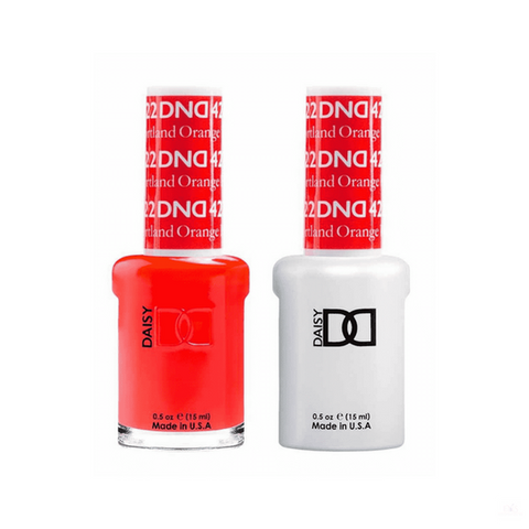 DND Gel Polish Duo Gel - 422 Portland Orange