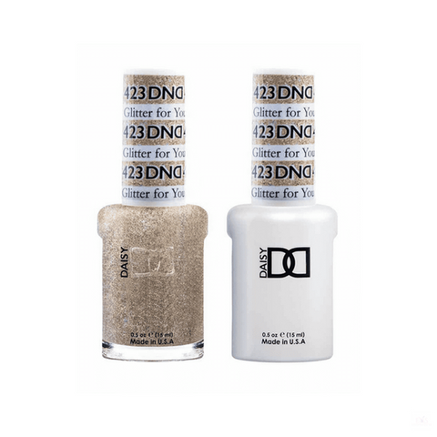 DND Gel Polish Duo Gel - 423 Glitter For You
