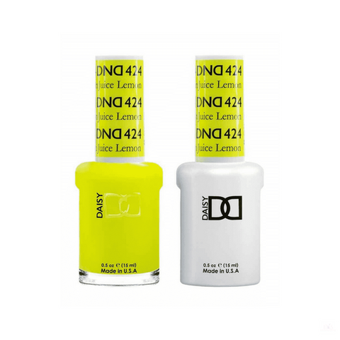 DND Gel Polish Duo Gel - 424 Lemon Juice