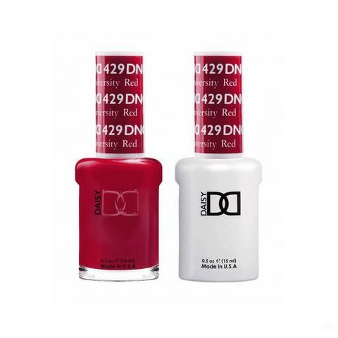 DND Gel Polish Duo Gel - 429 Boston University Red