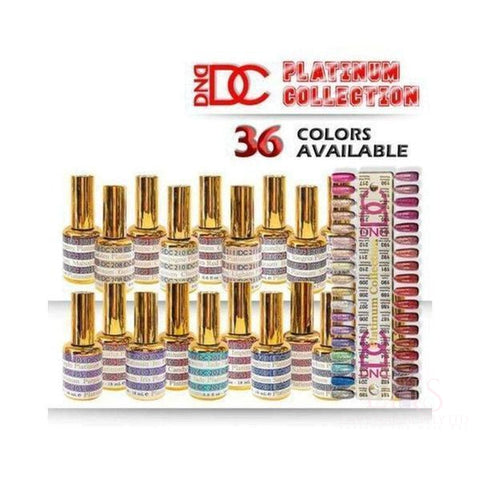 DC Gel Polish Platinum Collection 36 Colours