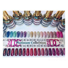 DND Gel Polish Single DC Gel Polish Platinum Collection 36 Colours