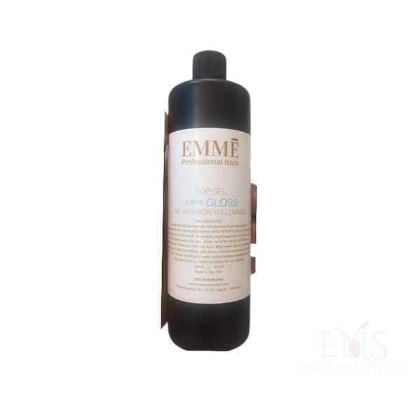 EMME Super Glossy Non Wipe Gel Top Coat