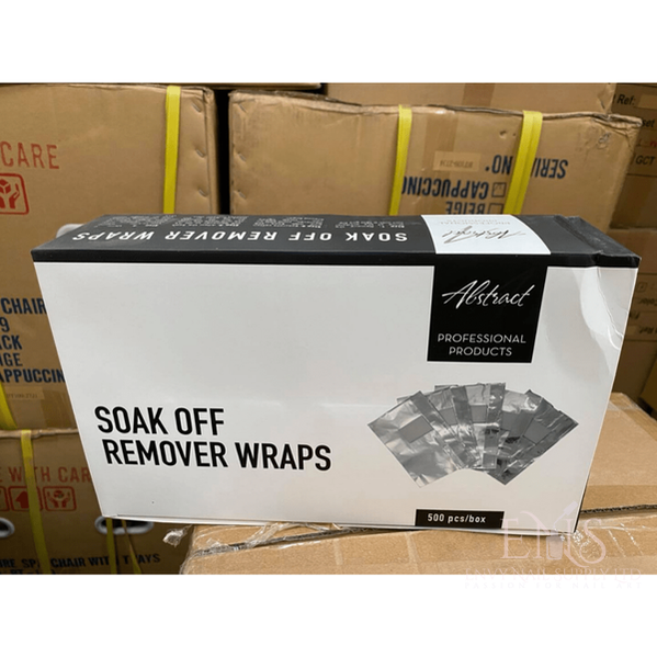Soak Off Remover Wraps Box Of 500 Pcs