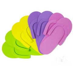 ENS Pedi slippers Disposable Foam Slippers High Quality Spa Pedicure Flip Flop