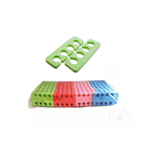Envy Nail Supply Foam Toe Seperators - 100x Pack Foam Toe Seperators - 100x Pack