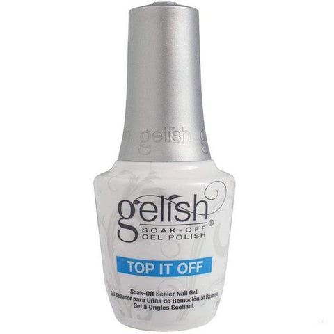 Gelish Gel Base & Topcoat Top coat Harmony Gelish Soak-Off  Top coat Base Coat 0.5oz/15ml