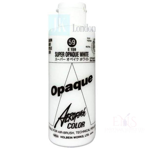 Holbein Airbrush System Holbein - Aeroflash Color - Super Opaque White 100ml