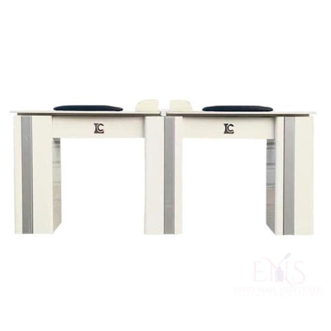 LC Nail Table Nail Technician Table LC  ZN4B - Double