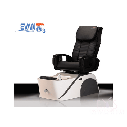 LC Pedicure Chair Red LC  EVAN SPA E3 PEDICURE CHAIR