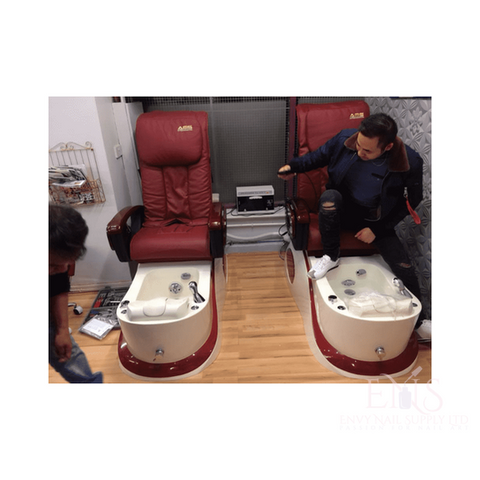 LC Pedicure Chair Red LC Nova N200 Pedicure chair