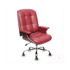 Lexor Client Chairs Burgundy Lexor Deluxe Customer Salon Chair