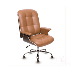 Lexor Client Chairs Cappuccino Lexor Deluxe Customer Salon Chair