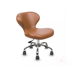 Lexor Client Chairs Cappuccino Manicurist Chairs Salon Chair Nail Technician Chairs Beauty Stools Classic Curved