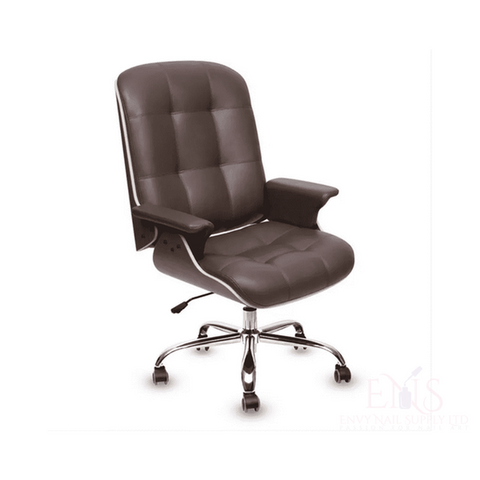 Lexor Client Chairs Walnut Lexor Deluxe Customer Salon Chair