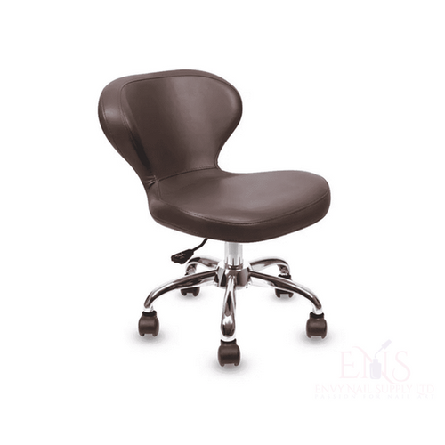 Lexor Client Chairs Walnut Manicurist Chairs Salon Chair Nail Technician Chairs Beauty Stools Classic Curved