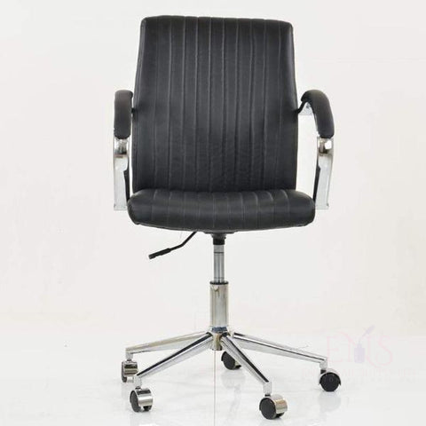 LF Client Chairs Storm Office Chair Vintage PU