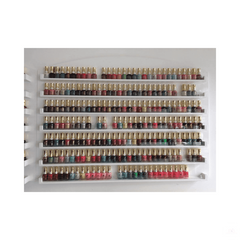 NBS Polish Holder Nail Polish Station Nail Polish Display Frame White Nail Vanish Display