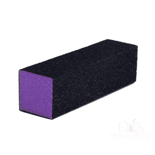 4 Way Purple Nail Buffing Sanding Block 60/60 grit
