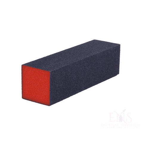 Nail Buffing Sanding Block  USA 3 Way Orange