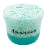Aquamarine Crunchy Clear Glue Floam